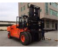 6700mm Raduis 25 Ton Forklift Container Moving Equipment 4400mm Wheelbase
