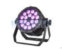Ip65 Outdoor Waterproof Led Par Light 18x12w With Advanced Optics
