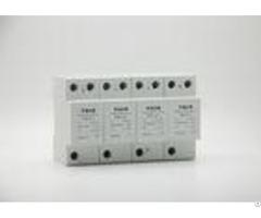 Modular 3 Phase Surge Arrester High Standard Lightning Protection Device