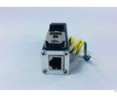 Lightweight Ethernet Surge Protection Devices Rj45 Lightning Arrester For Network Equipment