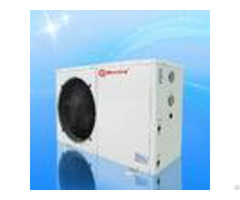White Evi Heat Pump 25 Degree Low Temperature High Cop Erp Certification