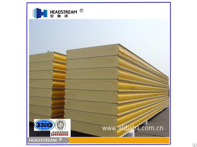 Pu Sandwich Panel With High Quality And Reasonable Price From China