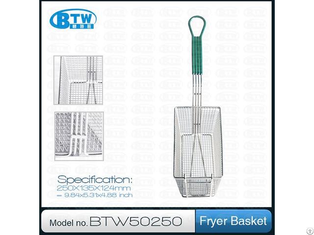 Good Quality Stainless Steel Kitchen Fryer Basket
