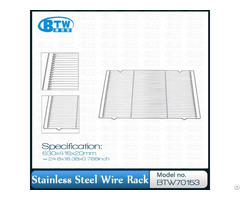 High Quality Stainless Steel Kitchen Wire Rack Oven Grill Cooling