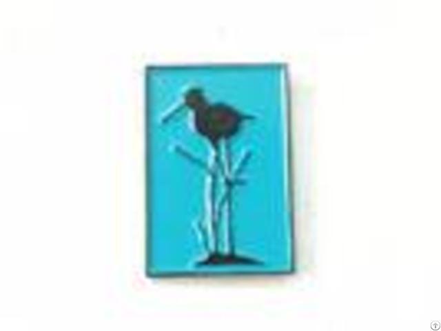 Soft Enamel Personalised Pin Badges Wild Animal Custom Lapel Pins No