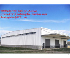 Economical Prefabricated Steel Structure Warehouse High Quality