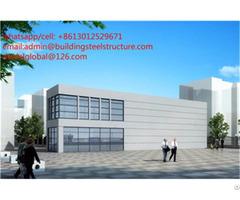 Structural Steel Frame Car Showroom Design Factory
