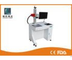 Mini Fiber Metal Laser Engraving Machine 1064 Nm Wavelength For Brass Animal Ear Tag