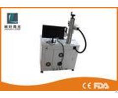 20w 30w Desktop Fiber Laser Marking Machine High Precision For Pad Industry
