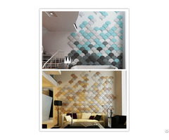 New Design 3d Classical Room Decor Art Soft Wall Panel Covering Wallpanel For Home
