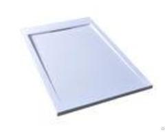 Polymarble Bathroom Shower Base 800 X 1200 Simple Matt White Tray