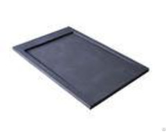 Custom Base Marbletrend Shower Tray Stone Resin Material With 60cm Siphon Cover