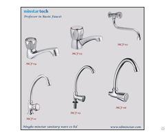 Bulk Production Vendor Public Places Single Handle Easy Useage Brass Sink Faucet