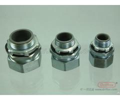 Hot Selling Steel Straight Liquid Tight Conduit Fittings