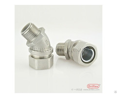 Hot Selling Stainless Steel 45d Liquid Tight Conduit Fittings