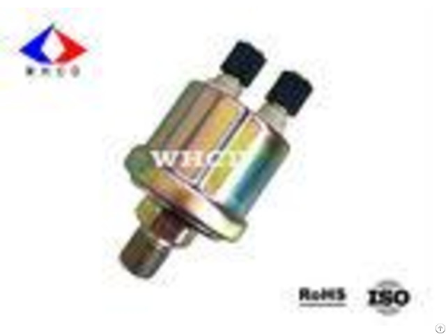 Color Zinc Plated Mechanical Oil Pressure Sensor For Truck Marine Boat