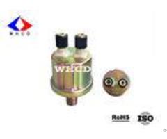Npt 1 4 Color Zinc Plated Automotive Oil Pressure Sensor For Truck Instruments