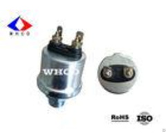 White Zinc Plated Mechanical Oil Pressure Sensor For Automotive Engines