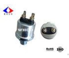 White Zinc Plated Mechanical Oil Pressure Sensor For Automotive Engines