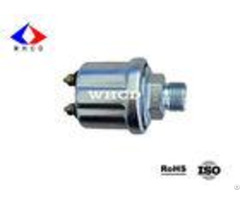 White Zinc Plated M18x1 5 Mechanical Oil Pressure Sensor For Cummins Engine