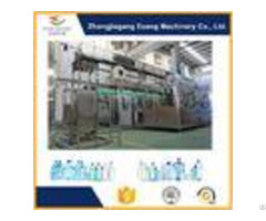 Silver 3 In 1 Filling Machine With High Pressure Pneumatic Action System