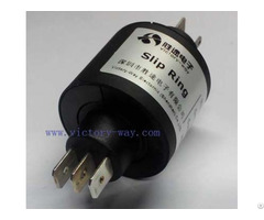 Four Channels High Current Slip Ring Plus For Robots Packaging Test Medical Equipment