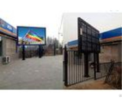 Commercial P10 Outdoor Full Color Led Display Hd With Iron Aluminum Cabinet