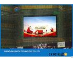 High Brightness Advertising Outdoor Led Screens Full Color Video Billboard P5 Waterproof Ip65 Module