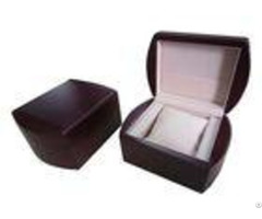 Elegant Decorative Wooden Watch Boxes For Gift Packaging Square Shape