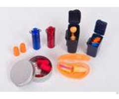 Bulk Cheap Noise Cancelling Sound Proof Ear Plug With Color Box Packaging