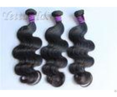 Natural Black Soft Peruvian Body Wave Virgin Hair For Dream Girl