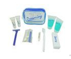 Travel Clear Airline Amenity Kits Lovely Pvc Pouch With Personal Products