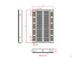 Education Abs Electronics Breadboard 400 Points Full Nickel 8 3 5 5cm