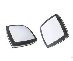 Square Shape Outdoor Wall Light 300mm Diameter Surface Mounted Led Bulkhead
