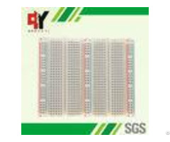Educational Electronic Circuit Breadboard 3 Distribution Strips With Lines