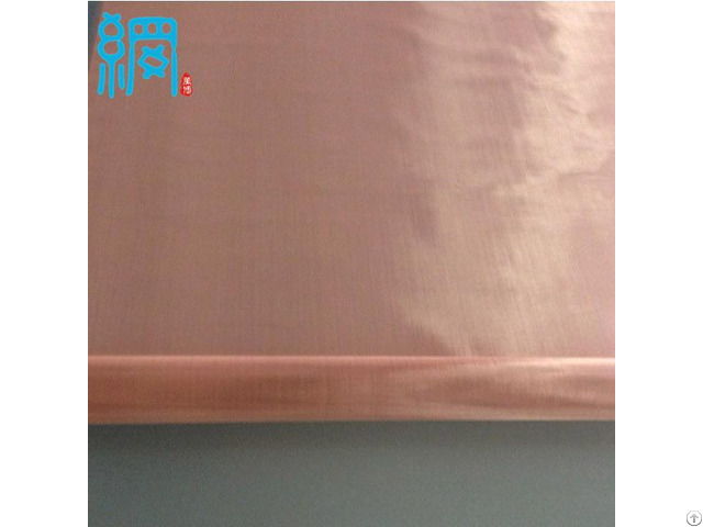 100mesh Pure Copper Woven Wire Mesh