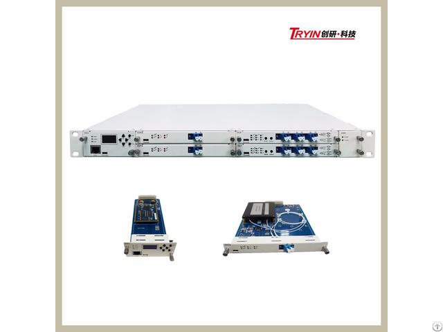 High Power 1550nm Dwdm Fiber Optical Amplifier Edfa