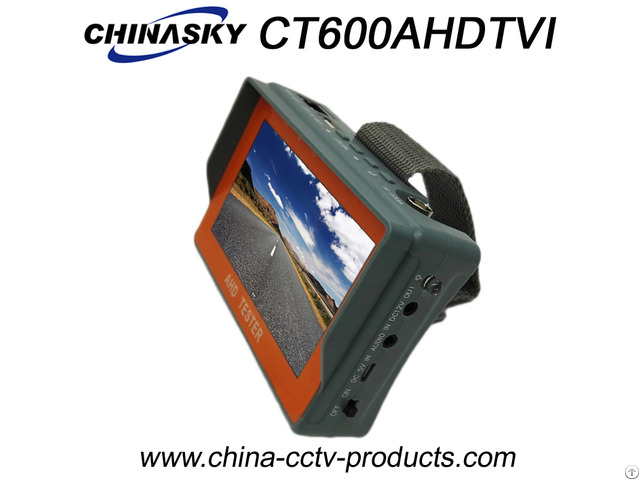 1080p Tft Color Lcd Cctv Tester For Ahd Tvi Analog Cameras Ct600ahdtvi