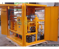 Double Stage High Efficiency Vacuum Insulation Oil Purifier