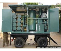 Double Stage Vacuum Insulation Oil Regeneration Purifier