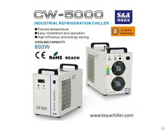 S And A Air Cooled Chiller Cw 5000 For Chemical And Laboratory