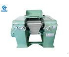 High Viscosity Cosmetic Pigment Grinding Mills Triple Roller Mill With Dust Cover