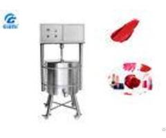 10l 150l Customized Lipstick Melting Tank Sus304 Sus316l Materials