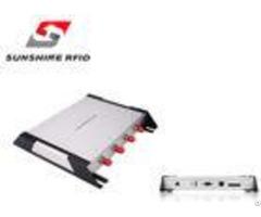 Four Port 8dbi Antenna Uhf Long Range Rfid Reader With Wifi Easy Installation