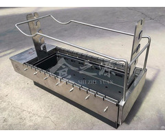 Big Size 28 Skewers Charcoal Automatically Flip Bbq Grill