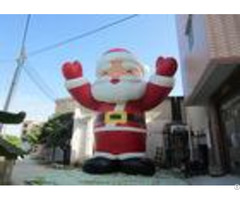 Attractive Outdoor Inflatable Christmas Decorations Blow Up Santa Claus 8mh