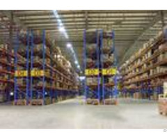 Adjustable Industrial Steel Storage Racks Double Deep Pallet Racking