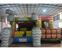 Builder Theme Inflatable Combo And Commercial Bouncer Combos From Xincheng Company