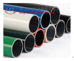 Coated Tube For Lean Rack Systems