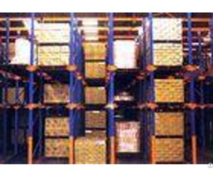 Cold Roller Steel Drive In Pallet Racking Heavy Duty 1000 4000kg Level For Warehouse